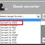 Convert PDF to Kindle Format - Free!