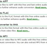 audio file types