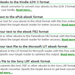 The Best eBook File Formats