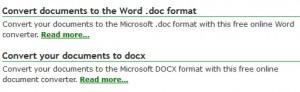 DOC vs. DOCX