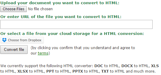 Why and How to Convert Word to HTML | Online file conversion