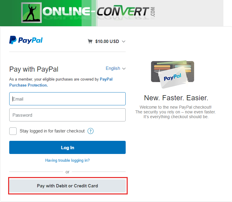 how to pay without creating a paypal account online file