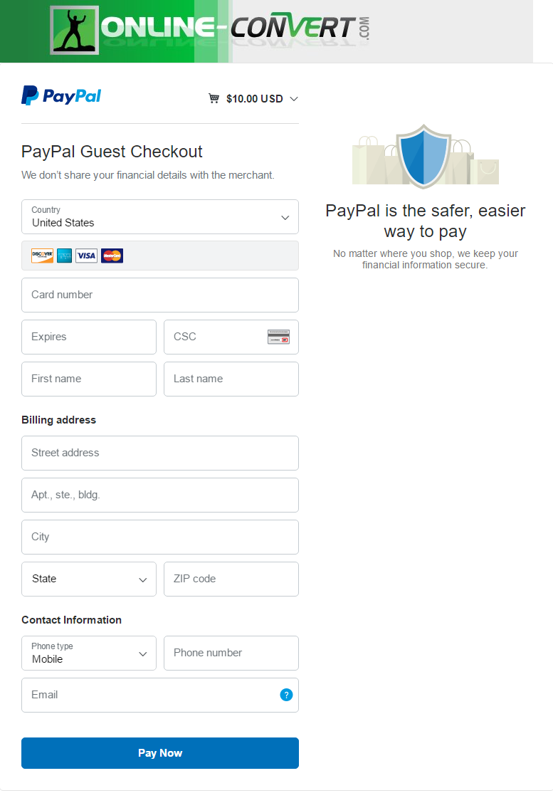 How To Pay Without Creating A PayPal Account
