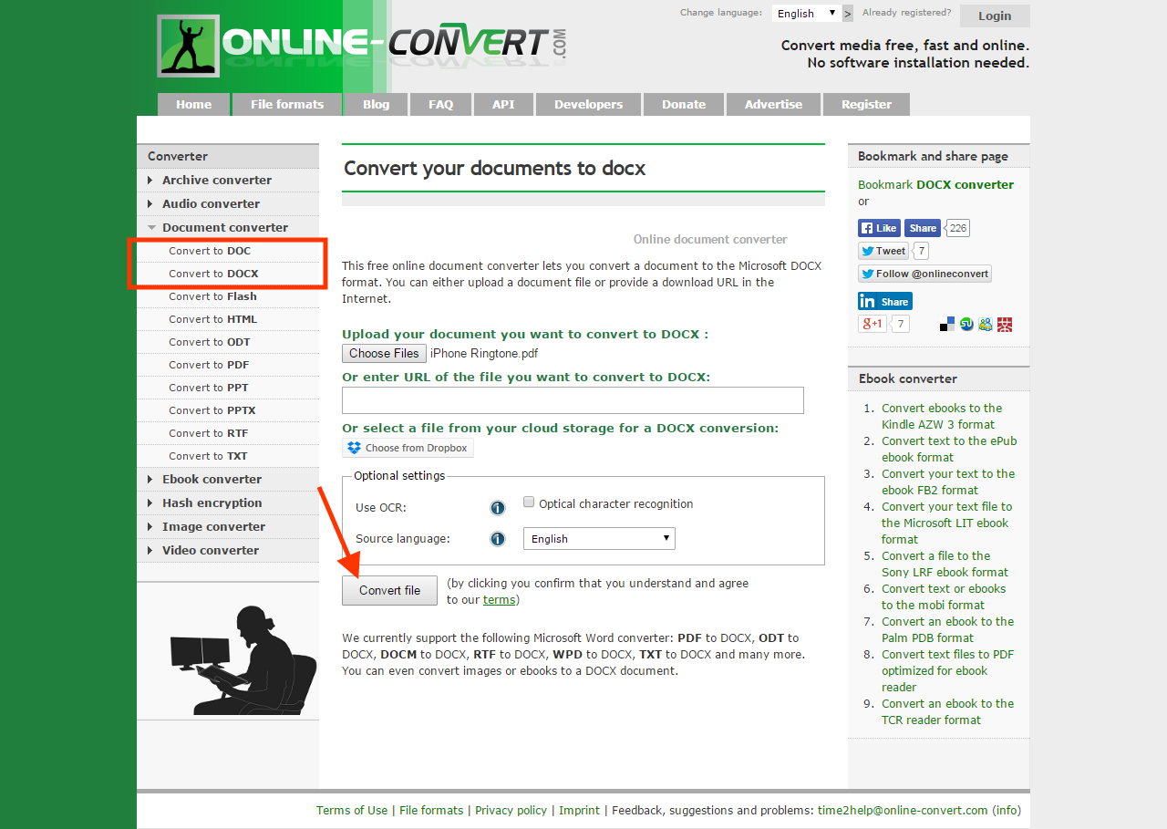 how to download word online document