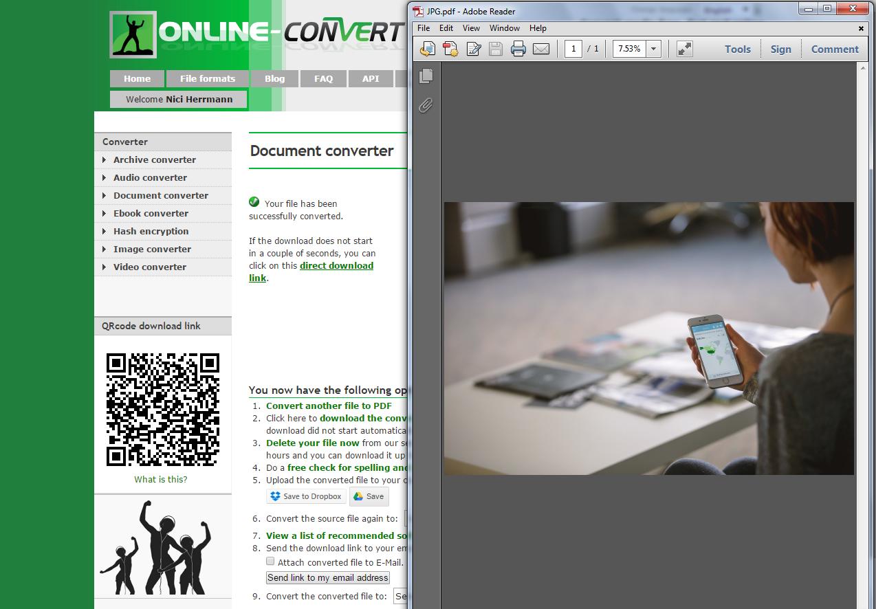 online jpg to pdf converter download