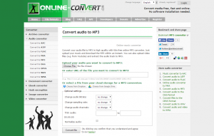 Online File Conversion