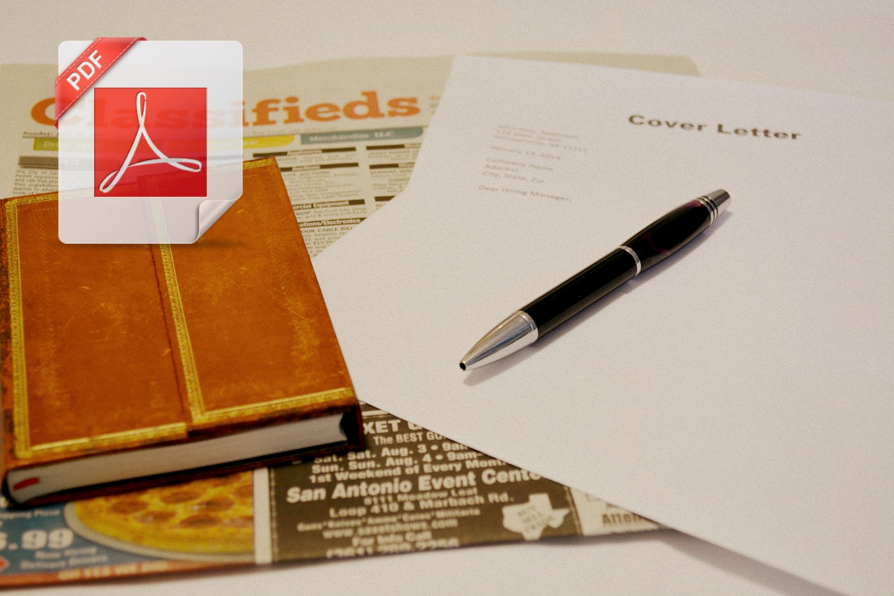 how to file job application