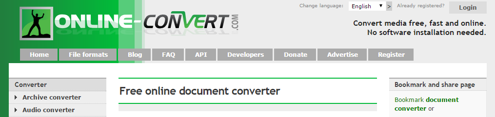 Online Document Converter