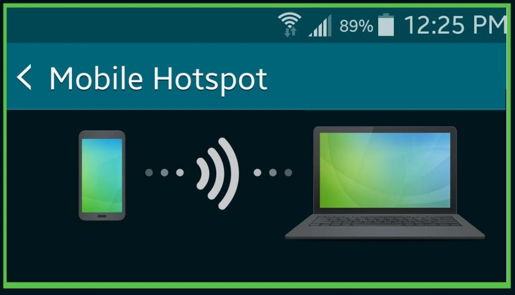 See how to turn your smartphone into a wi-fi hot spot