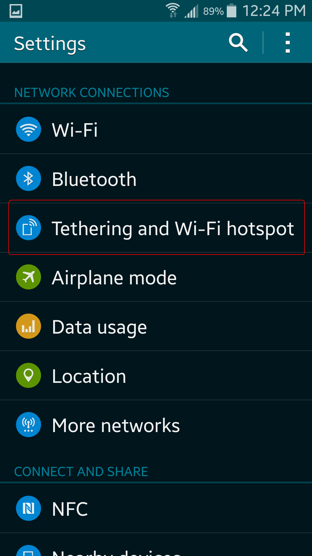 Easy steps to turning your smartphone into a wi-fi hotspot - 2