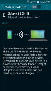 Easy steps to turning your smartphone into a wi-fi hotspot - 4