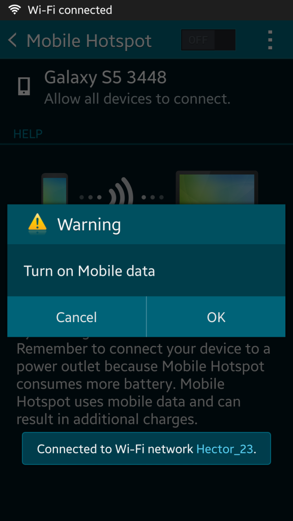 Easy steps to turning your smartphone into a wi-fi hotspot - 6
