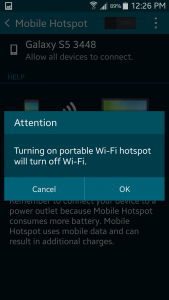Easy steps to turning your smartphone into a wi-fi hotspot - 5