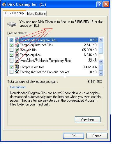 Deleting Windows Temp Files - Disk Cleanup for