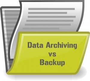 Differences Between Data Archiving vs Backup