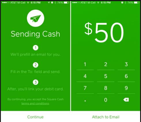 Cash iPhone App