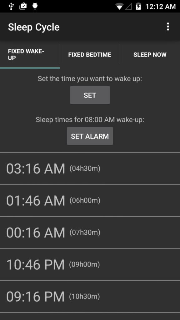 Sleep Cycle iPhone App
