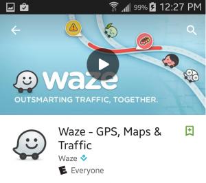 Waze iPhone App