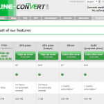 The Online-Convert.com Premium Plans Unveiled!