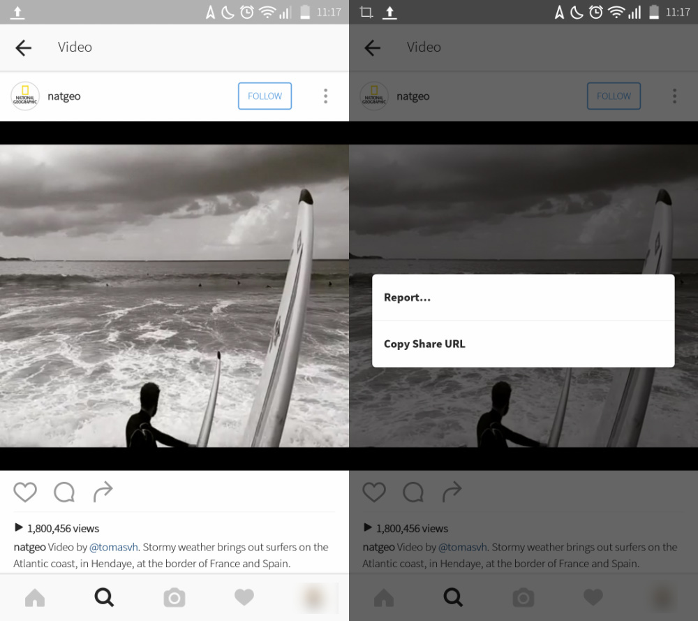 Save Videos from Instagram