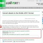 Convert your ebook online for free – 1