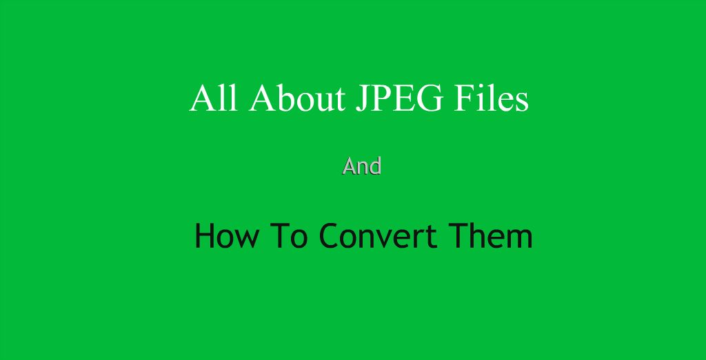What Are JPEG Files & How To Convert Them