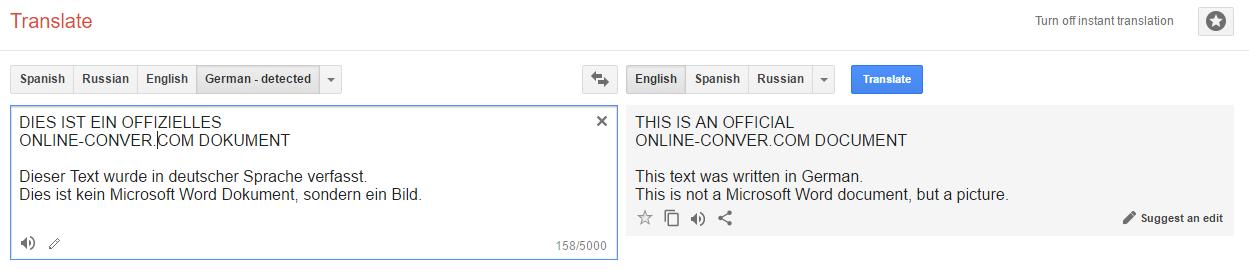 translate pdf online german to english