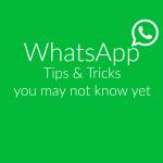 WhatsAppTricks