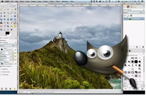 free photo editing programs - GIMP