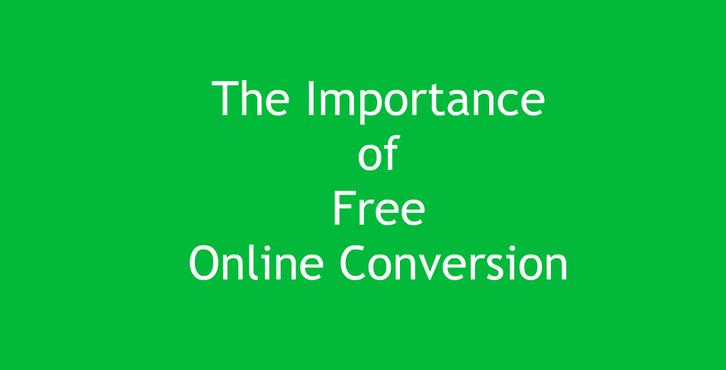 Free Online File Conversion Made Easy