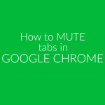 Mute Google Chrome