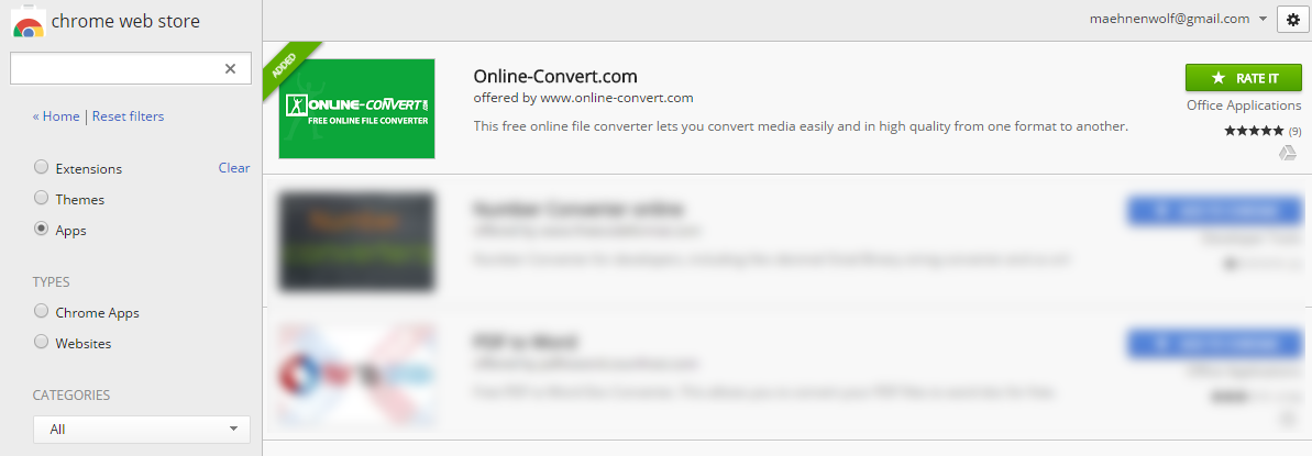 All About The Online-Convert Google Chrome App | Online file