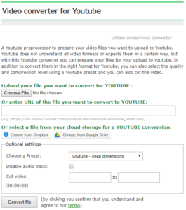 Optimize Your Videos For YouTube | Online file conversion blog
