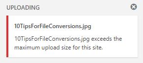 Image File Size