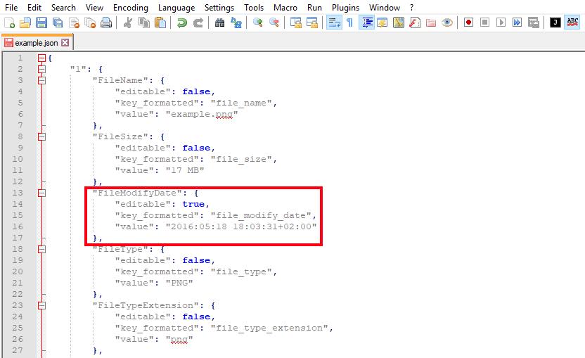 Change Metadata of Images using API | Online file conversion