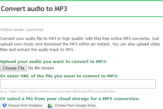 convert mp3 to m4a online