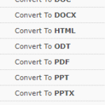 DocumentConverter